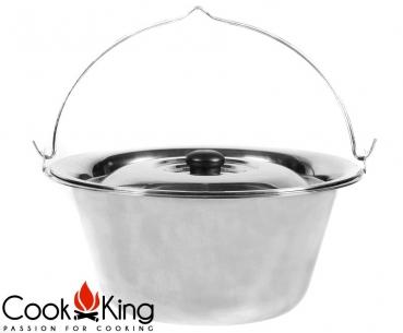 COOK KING BBQ Grill Pfanne 3 Kammern für Feuerschale 70 cm ***NEU***