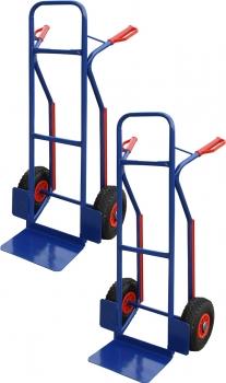 PRO-BAU-TEC Alu PU-Rad Sackkarre Stapelkarre Transportkarre 150kg *NEU*