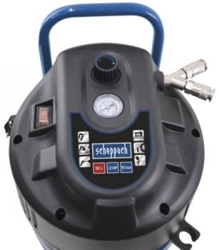 scheppach hc51v druckluft kompressor 10 bar 50 liter 1500 w neu. Black Bedroom Furniture Sets. Home Design Ideas