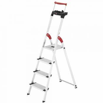 hailo comfortline xxr stehleiter stehleiter leiter haushaltsleiter 4 stufen neu. Black Bedroom Furniture Sets. Home Design Ideas