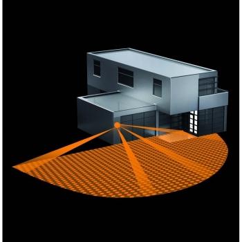steinel bewegungsmelder f r lampen ip54 wei flach neu. Black Bedroom Furniture Sets. Home Design Ideas