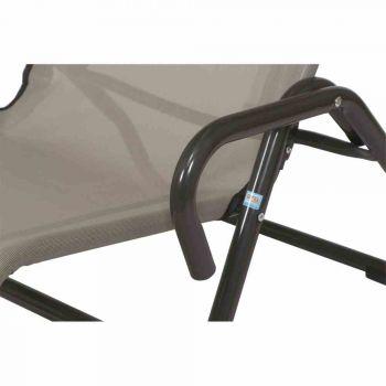 mfg 02603309 b derliege pool 3 anthrazit taupe neu. Black Bedroom Furniture Sets. Home Design Ideas