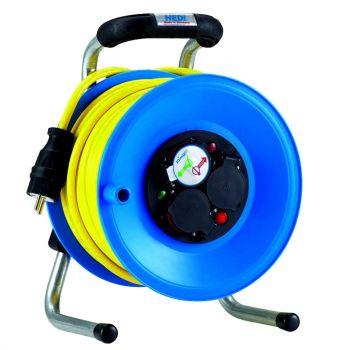 hedi k1y40utf kunststoff kabeltrommel primus 40 m f r au en blau neu. Black Bedroom Furniture Sets. Home Design Ideas