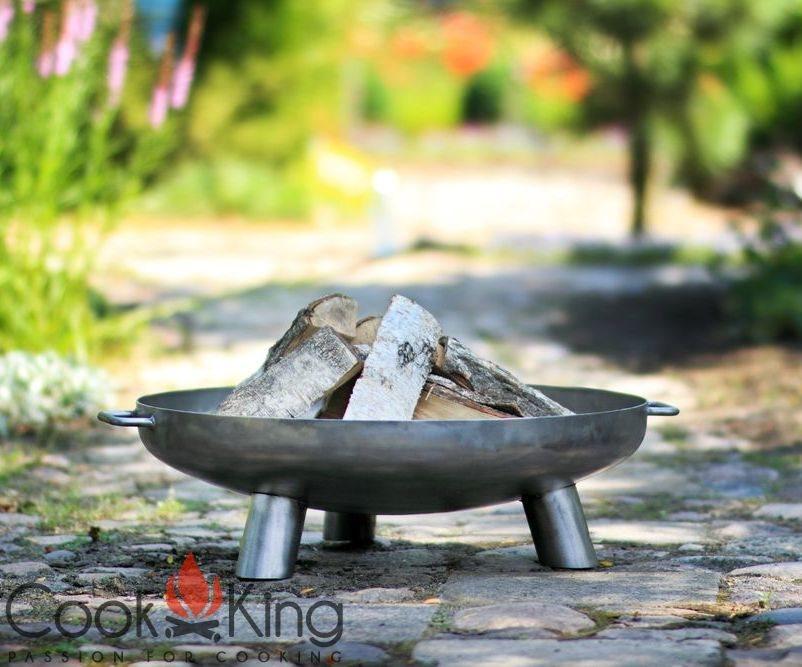 Feuerschale Bali 70 cm ***NEU*** COOK KING BBQ Schwenkgrill Rohstahlrost 70cm