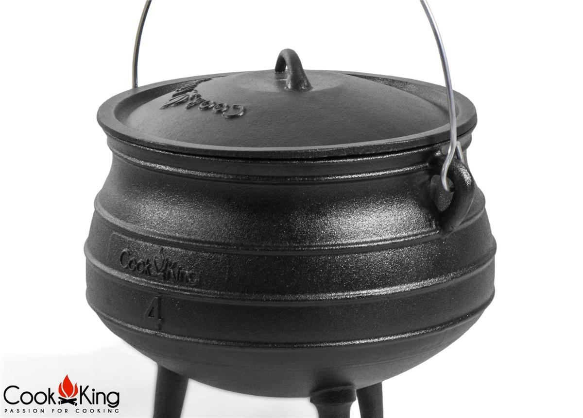 COOK KING BBQ Eisenkessel Gulaschkessel Kessel Topf \