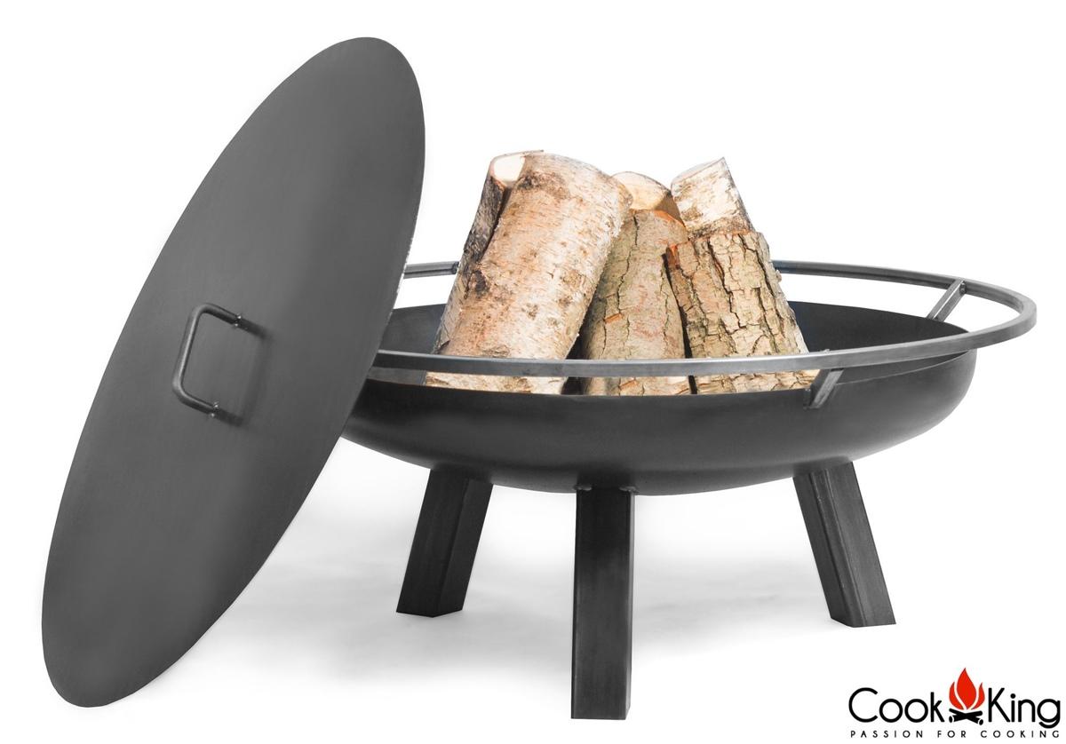 cook king feuerschale porto abdeckung 80 cm neu. Black Bedroom Furniture Sets. Home Design Ideas
