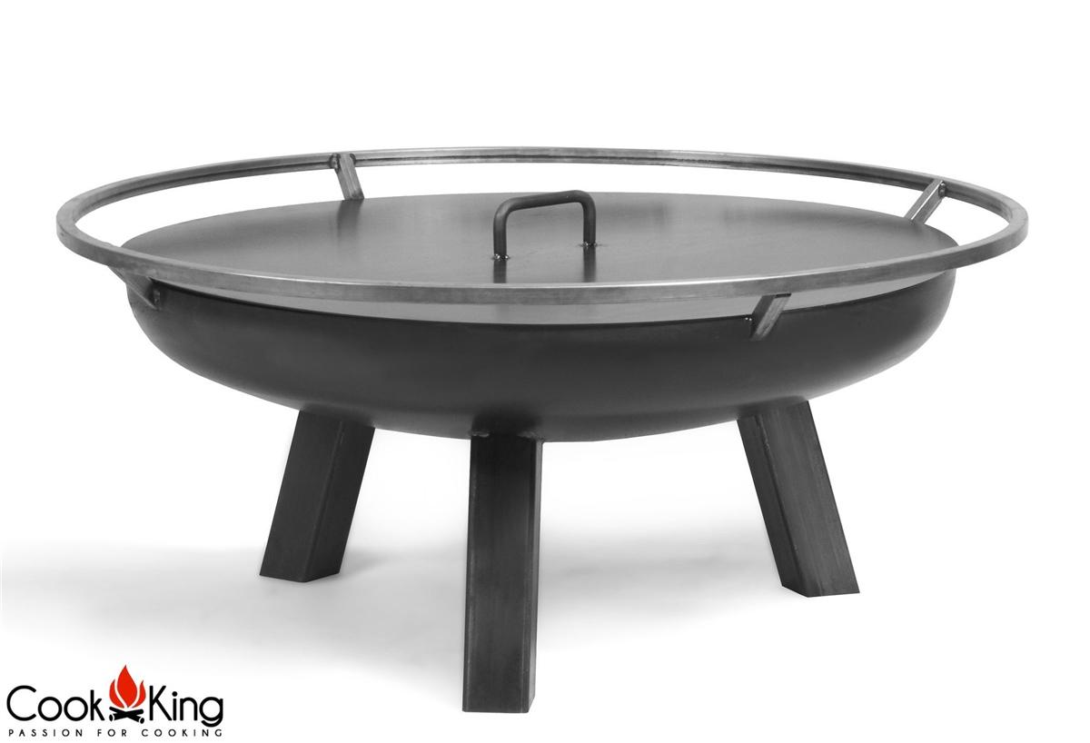 cook king feuerschale porto abdeckung 60 cm neu. Black Bedroom Furniture Sets. Home Design Ideas