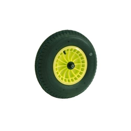 fort ersatzrad gelb rad schubkarre gartenkarre baukarre. Black Bedroom Furniture Sets. Home Design Ideas