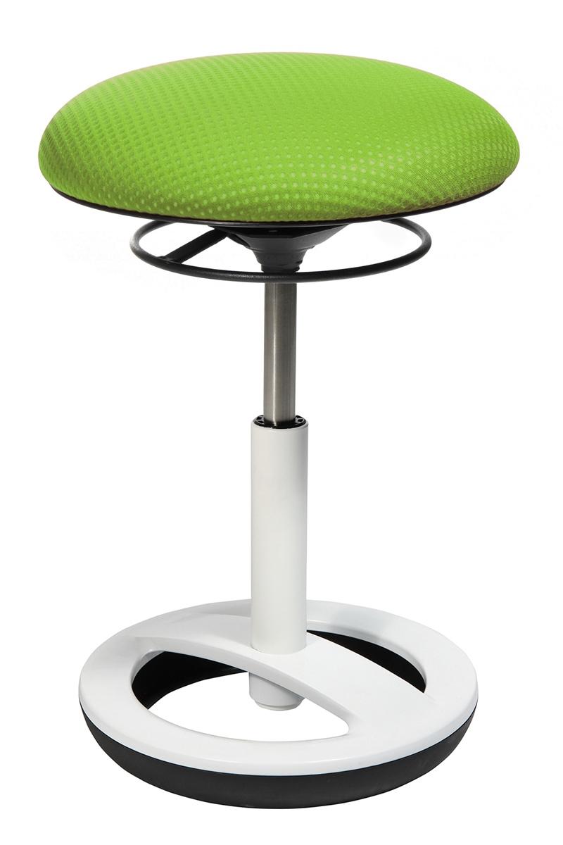Drehhocker Bürohocker Drehstuhl Topstar Sitness Half Ball grün apfelgrün B-Ware
