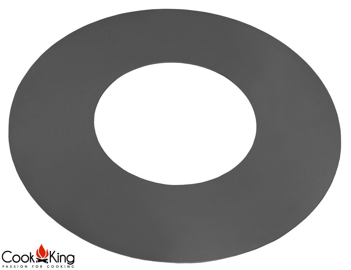 cook king grillplatte f r feuerschale 82cm rund mit loch 40cm neu. Black Bedroom Furniture Sets. Home Design Ideas