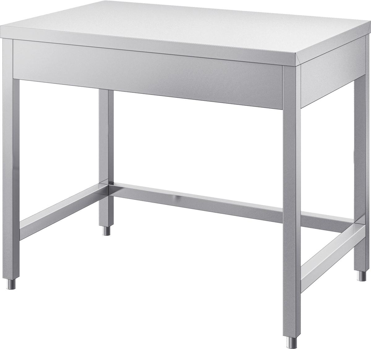gam gastro edelstahl arbeitstisch tisch 70 cm breit neu. Black Bedroom Furniture Sets. Home Design Ideas