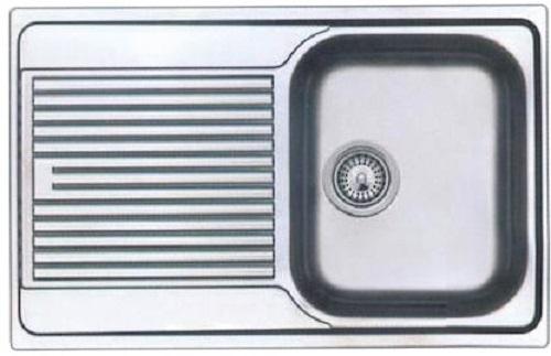 Top GAM Gastro Edelstahl Spültisch Spüle 100 cm breit Abtropffläche KI21
