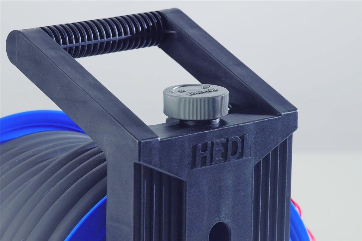 hedi k4503020d2 kabeltrommel 50m 5x1 5 mm f r au en neu. Black Bedroom Furniture Sets. Home Design Ideas
