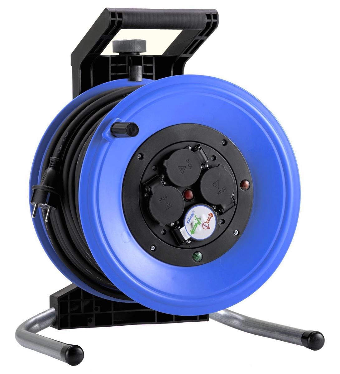 hedi k350ntf kabeltrommel professional plus 320 50 m 3x1 5 mm f r au en neu. Black Bedroom Furniture Sets. Home Design Ideas