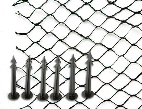 Siena garden teichabdecknetz 4x10m teich schutz netz for Teich schutz